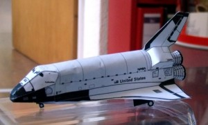 Spaceshuttle von papertoys.com